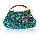 cheap Clutches & Evening Bags-Women's Bags Polyester Evening Bag Beading Purple / Fuchsia / Gray Green