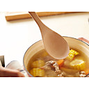 זול ספלים וכוסות-כלי מטבח עץ נייד כפית 1pc