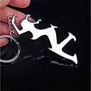 זול מזכרות מחזיקי מפתחות-רומנטיקה מצדדים במחזיק מפתחות סגסוגת אבץ מחזיקי מפתחות - 1 pcs כל העונות
