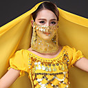 رخيصةأون اكسسوارات الرقص-رقص شرقي العادي للمرأة التدريب تول شىء صغير براق الحجاب