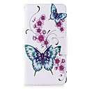 cheap Cell Phone Cases & Screen Protectors-Case For Huawei Y5 III(Y5 2017) Y5 II / Honor 5 Card Holder Wallet with Stand Flip Magnetic Full Body Cases Butterfly Flower Hard PU