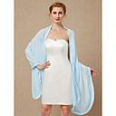cheap Wedding Wraps-Sleeveless Chiffon Wedding Party / Evening Women's Wrap Shawls