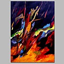 cheap Oil Paintings-Print Stretched Canvas - Abstract Comtemporary