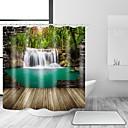 preiswerte Wand-Sticker-Duschvorhänge & Ringe Landhaus Stil Polyester Neuheit Maschinell gefertigt Wasserfest