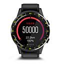 olcso Okosórák-Alkalmi óra Divatos óra HF1 mert Android iOS Bluetooth Smart Üzlet Hordozható Kártyatartó GPS Hangulat követő Lépésszámláló Hívás emlékeztető Magasság mérő / Alvás nyomkövető / ülő Emlékeztető