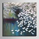 ieftine Includeți cadru interior-Hang-pictate pictură în ulei Pictat manual - Abstract / Floral / Botanic Modern Includeți cadru interior / Stretched Canvas