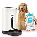 abordables Cierre y Frontal-5 L Perros Gatos Mascotas Alimentadores Mascotas Cuencos y Alimentación Cámara Gran Angular Modo bidireccional Comederos automáticos para