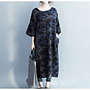 cheap Necklaces-Women's Basic Street chic Tunic Dress - Solid Colored