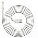 tanie Kable i Ładowarka-Oświetlenie Adapter kabla USB Wysoka prędkość / Szybka opłata Kable Na iPhone 200 cm Na Nylon