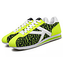 זול נעלי ספורט לגברים-בגדי ריקוד גברים בד אביב / סתיו נוחות נעלי אתלטיקה הליכה אפור / ירוק / כחול
