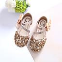 זול תחפושות אנימה-בנות נעליים נצנצים קיץ צעדים ראשונים סנדלים קריסטל ל זהב / כסף / ורוד