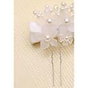 ieftine Accesorii Păr de Petrecerere-Imitație de Perle / Teracotă Pini de păr cu Imitație de Perle / Floral 1 Bucată Nuntă Diadema