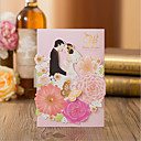 cheap Wedding Invitations-Gate-Fold Wedding Invitations 30pcs - Engagement Party Cards Bridal Shower Cards Baby Shower Cards Mother's Day Cards Invitation Sample