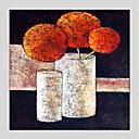 זול חפצים דקורטיביים-ציור שמן צבוע-Hang מצויר ביד - טבע דומם מודרני בַּד