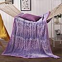 preiswerte Sofadecken & Überwürfe-Korallenfleece, Reaktivdruck Blumen Baumwolle/Polyester Polyester Decken