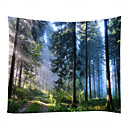 cheap Wall Decor-Garden Theme Landscape Wall Decor 100% Polyester Classic Modern Wall Art, Wall Tapestries of
