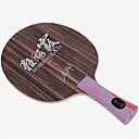 זול שולחן טניס-DHS® Hurricane XIA FL Ping Pang/מחבטי טניס שולחן לביש עמיד עץ סיבי פחמן OFF ++ 1