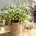 זול פרחים מלאכותיים-פרחים מלאכותיים 1 ענף כפרי / סגנון מינימליסטי צמחים פרחים לשולחן