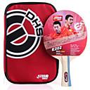 זול שולחן טניס-DHS® E202 FL Ping Pang/מחבטי טניס שולחן גוּמִי ידית ארוכה פצעונים