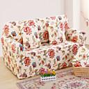 tanie Pokrowce na sofy i fotele-Współczesny 100% Polyester Jacquard Loveseat Zaznaczony, Prosty Kwiaty Drukowane slipcovers