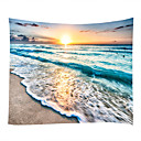 cheap Wall Murals-Beach Theme Pirates Wall Decor 100% Polyester Contemporary Modern Wall Art, Wall Tapestries Decoration