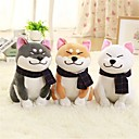 cheap Projectors-1PC Wear scarf Shiba Inu Dog Stuffed Animal Plush Toy Lovely Exquisite Comfy Girls' Toy Gift 1 pcs