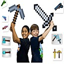 abordables Juguetes y Figuras de acción-Minecraft Toys Sword Pick Axe Anime y manga Simple PEVA Regalo 1pcs