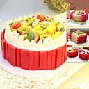 olcso LED kukorica alakú izzók-Bakeware eszközök Szilikon Több funkciós Mindennapokra / Torta Derékszögű süteményformákba 4db