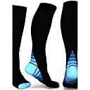 voordelige Handvatten-Allemaal Compressie Sokken Ademend, Zweetafvoerend, Comfortabel Voor 2 paar Kleurenblok Alle seizoenen / Hoge Elasticiteit