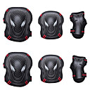 cheap RC Drone Quadcopters & Multi-Rotors-Knee Pads + Elbow Pads + Wrist Pads for Inline Skates / Hoverboard / Roller Skates Breathable / Protective 6 pack