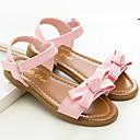 זול נעלי תינוקות-בנות נעליים עור פטנט קיץ נעליים לילדת הפרחים סנדלים פרח / וו ולולאה ל צהוב / ורוד