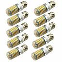 tanie Lampy stołowe-10 szt. 5 W 600 lm E14 / G9 / GU10 Żarówki LED kukurydza T 128 Koraliki LED SMD 2835 Dekoracyjna Ciepła biel / Zimna biel 220-240 V