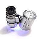 abordables Eclairage de Vélo et sécurité-60 X 10 mm Microscope Portable Camping / Randonnée Usage quotidien Plastique Métal