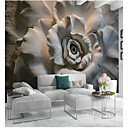 cheap Ceiling Lights-Floral Art Deco 3D Home Decoration Classic Modern Wall Covering, Canvas Material Adhesive required Mural, Room Wallcovering