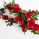 cheap Kitchen Organization-Artificial Flowers 1 Branch Wedding / European Style Roses Wall Flower