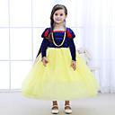 tanie Zestawy ubrań dla dziewczynek-Dzieci Dla dziewczynek Vintage / Aktywny Impreza / Wyjściowe Patchwork Długi rękaw Sukienka / Bawełna