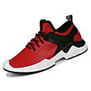 זול נעלי אוקספורד לגברים-בגדי ריקוד גברים PU אביב / סתיו נוחות נעלי ספורט שחור / אדום