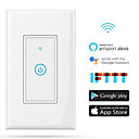 cheap Electrical Light Switch & Dimmer-Smart Switch Dimmable Scheduled Time Control Your Fixture From Anywhere Compatible Device Easy to Use Timing Function 1pack neutral wire