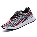 זול נעלי ספורט לגברים-בגדי ריקוד גברים טול אביב / סתיו נוחות נעלי אתלטיקה ריצה שחור / אדום / כחול בהיר