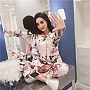 cheap Earrings-Women's Suits Pajamas-Print,Floral
