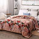 preiswerte Sofadecken & Überwürfe-Korallenfleece, Gesteppt Blumen Baumwolle/Polyester Polyester Decken