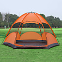 cheap Tents, Canopies & Shelters-Sheng yuan 5 person  Outdoor Screen Tent Waterproof Breathability Ultraviolet-Resistant Anti-Insect Poled Design-Ideal Couch Dome One Room Double Layered 1500-2000 mm Camping Tent  for Hiking Camping