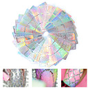 cheap Nail Stickers-24 pcs Stickers & Tapes / Foil Sticker / Nail Sticker Nail Decals Nail Art Tool