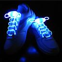 preiswerte Nachtleuchten-BRELONG® 1 Paar Leuchtende Schnürsenkel Knopf Batteriebetrieben Kreative Neuheit Dekoration