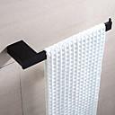 זול תאורה מודרנית-מתלה מגבת איכות גבוהה מודרני פליז 1pc - אמבטיה 1-מגבת בר מותקן על הקיר