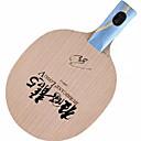 זול שולחן טניס-DHS® Hurricane LONG5 CS Ping Pang/מחבטי טניס שולחן לביש עמיד עץ סיבי פחמן 1
