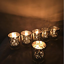 ieftine Lumânări & Suport de Lumânări-Stil European / Modern / Contemporan Hârtie Reciclabilă Suporturi Lumânări 6pcs, Lumânare / Suport pentru lumânări