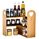 cheap Night Lights-Kitchen Organization Rack & Holder Wood Easy to Use 1pc