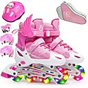 olcso Védőöltözet-Lány Görkorcsolyák Gyermek Gyaloglás / Jumping Rubin / Arcpír rózsaszín / Bíbor Sport & Szabadtéri