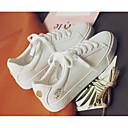 tanie Adidasy do tańca-Damskie Syntetyczny Microfiber PU Wiosna / Jesień Wygoda Adidasy Niski obcas Biały / Srebrny / Biały / Żółty